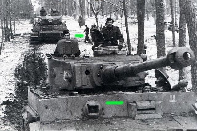 Tanks Invading Berdichev during WWII